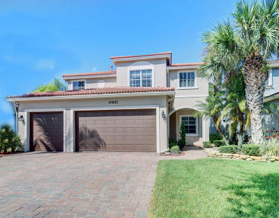 Boynton Beach Single Family Home For Sale: 10833 Lake Wynds Court