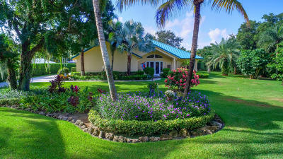 Palm Beach Gardens Single Family Home For Sale: 2465 Cardinal Lane