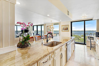 Palm Beach Condo For Sale: 3360 S Ocean Boulevard #6 A Ii