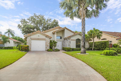 Boynton Beach Single Family Home For Sale: 8451 Compass Drive