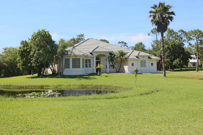 Jupiter Single Family Home For Sale: 17968 Winterhawk Trail