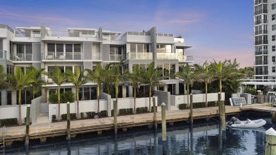 Delray Beach Townhouse For Sale: 136 Macfarlane Drive #Unit 2 (