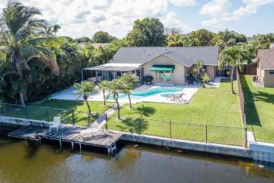Delray Beach Single Family Home For Sale: 3007 Cormorant Road