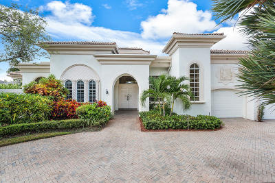 Mizner Court, Mizner Court Cond I, Royal Palm Yacht & Cc, Royal Palm Yacht & Country Club, Royal Palm Yacht And Country Club, Royal Palm Yacht And Country Club Sub In Pb 26 Pgs, Royal Palm Yacht And Country Club Subdivision Single Family Home For Sale: 2391 Areca Palm Road