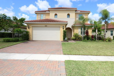 Royal Palm Beach Single Family Home For Sale: 2934 Bellarosa Circle