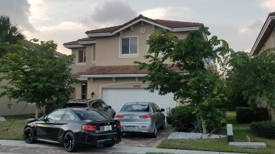 Greenacres Single Family Home For Sale: 4809 Foxtail Palm Court