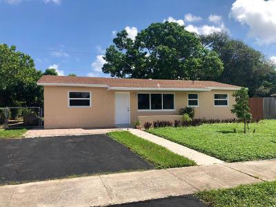 Deerfield Beach Single Family Home For Sale: 1450 SW 7th Terrace