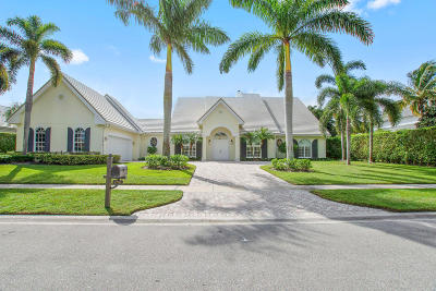 Palm Beach County Single Family Home For Sale: 12916 Mizner Way