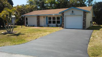 Lake Worth, Lakeworth Single Family Home For Sale: 7044 Pine Manor Drive