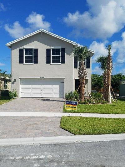 West Palm Beach Single Family Home For Sale: 6053 Wildfire Way