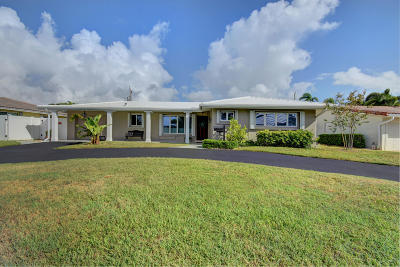 Deerfield Beach Single Family Home For Sale: 1417 SE 8th Street