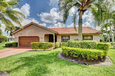 Single Family Home Contingent: 21100 Water Oak Terrace