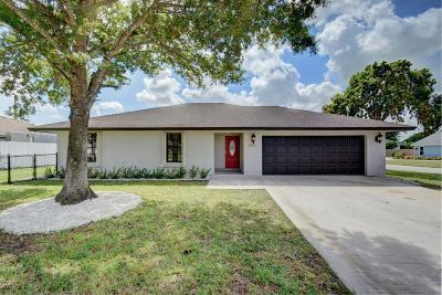 Boynton Beach Single Family Home Contingent: 4034 Palo Verde Drive