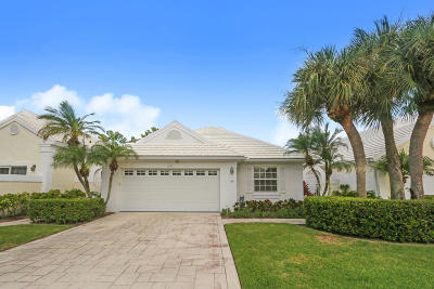 Palm Beach Gardens Single Family Home Contingent: 55 Dorchester Circle