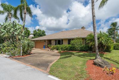 Boynton Beach Single Family Home For Sale: 4345 Juniper Terrace
