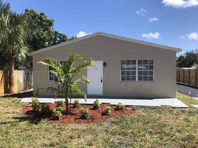 Delray Beach Single Family Home Contingent: 613 SE 3rd Avenue