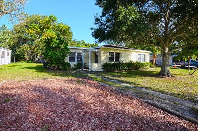 Vero Beach Single Family Home For Sale: 2186 33rd Avenue