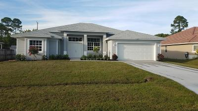 Port Saint Lucie Single Family Home For Sale: 1031 SW Romaine Lane