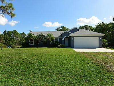 Loxahatchee Single Family Home For Sale: 17392 Valencia Boulevard
