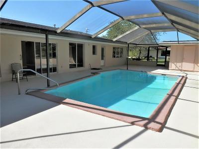 Port Saint Lucie Single Family Home For Sale: 1785 SE Westmoreland Boulevard