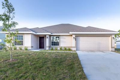 Port Saint Lucie Single Family Home For Sale: 6129 NW Ginger Lane
