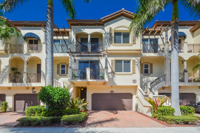 Boynton Beach Townhouse For Sale: 3028 Waterside Circle