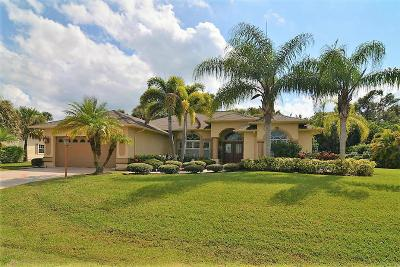 Fort Pierce Single Family Home For Sale: 2405 Winding Creek Lane