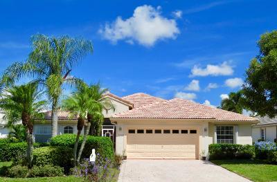 Greenacres Single Family Home For Sale: 2532 Egret Lake Drive