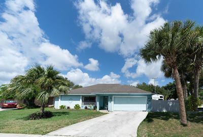 West Palm Beach Single Family Home For Sale: 2551 W Carandis Road