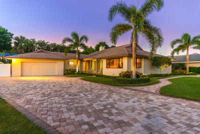 Tequesta Country Club Single Family Home For Sale: 348 River Drive