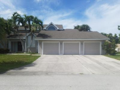 Hutchinson Island FL Single Family Home For Sale: $479,000