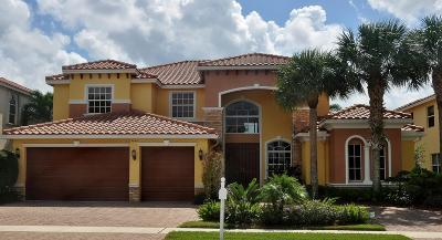 Lake Worth Single Family Home For Sale: 9940 Via Bernini