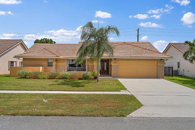 Boynton Beach Single Family Home For Sale: 9430 Sun Pointe Drive