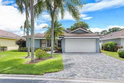 Palm Beach Gardens Single Family Home Contingent: 6842 Touchstone Circle