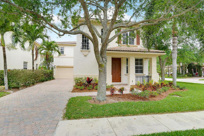 Palm Beach Gardens Single Family Home For Sale: 421 Pumpkin Drive