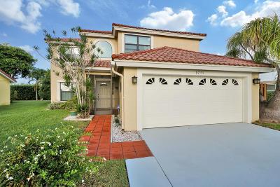 Boynton Beach Single Family Home For Sale: 9775 Arbor Meadow Drive