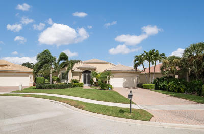 Boynton Beach Single Family Home For Sale: 7731 New Ellenton Drive