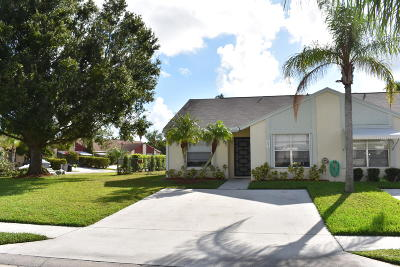 Jupiter Single Family Home For Sale: 251 Palmetto Court