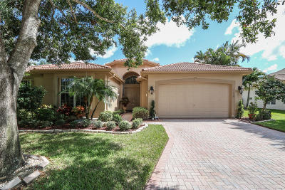 Boynton Beach Single Family Home For Sale: 11559 Puerto Boulevard