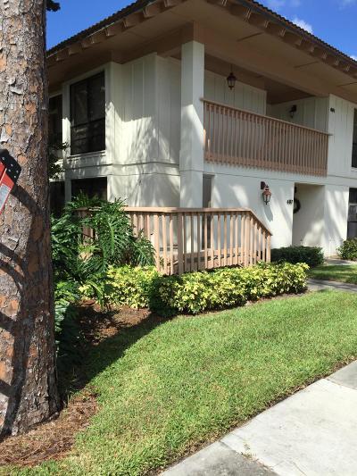 Palm Beach Gardens Condo For Sale: 487 Brackenwood Lane