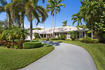 Palm Beach County Single Family Home For Sale: 1145 Harbor Drive