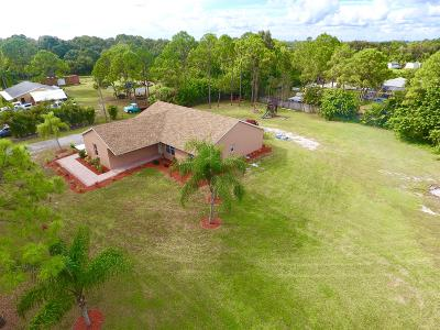 Loxahatchee Single Family Home For Sale: 18683 40th Run