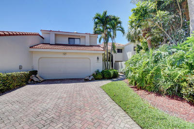 Boca Raton Townhouse For Sale: 7404 Woodmont Court