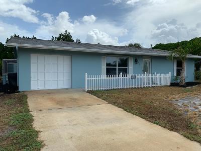 Port Saint Lucie Single Family Home Contingent: 875 Sandia Avenue