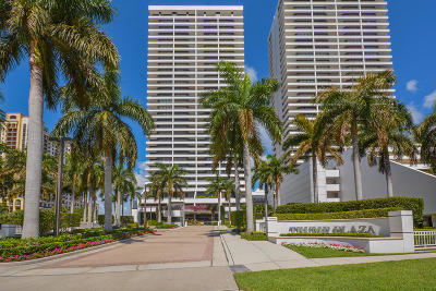 West Palm Beach Rental For Rent: 525 S Flagler Drive #8b