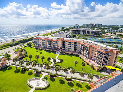 Palm Beach County Condo For Sale: 2871 Ocean Boulevard #D120