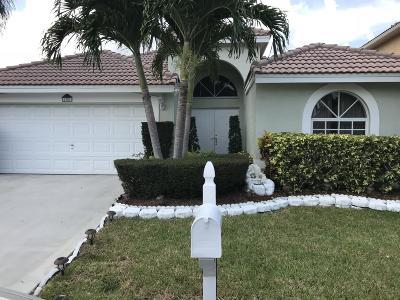 Boynton Beach Single Family Home For Sale: 1351 E Fairfax Circle NW