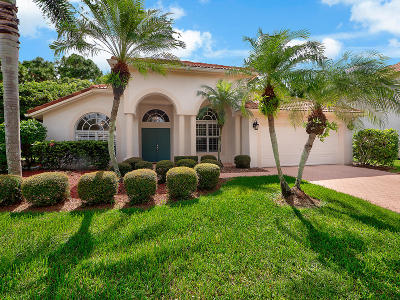 Palm Beach Gardens Single Family Home For Sale: 318 Timberwood Court