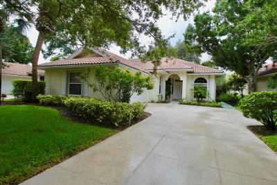 Palm Beach Gardens Single Family Home For Sale: 178 East Tall Oaks Circle