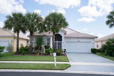 Boynton Beach Single Family Home Contingent: 10830 Fillmore Drive